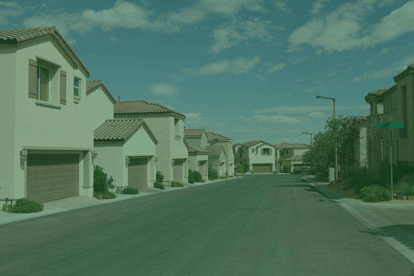 A neighborhood in Nevada