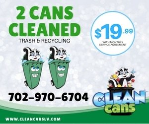 Clean Cans ad for the monthly cleaning service